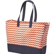BB400 Full-Pattern Beach Tote