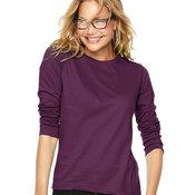 Ladies' Long Sleeve Crewneck T-Shirt