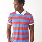 Eco-Jersey Ugly Stripe Short Sleeve Polo