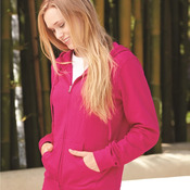 Juniors' Heavenly Fleece Full-Zip Hooded Sweatshirt