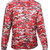 Digital Camo Youth Long Sleeve T-Shirt