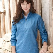 Ladies' Space Dyed Pullover