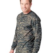 Digital Camo Long Sleeve T-Shirt