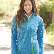 Ladies' Cosmic Fleece Quarter Zip Pullover