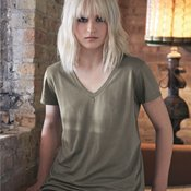 Women's Cotton Modal V-Neck T-Shirt