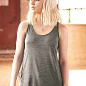 Women's Melange Burnout Jersey Airy Tank