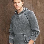 8915 Vintage Zen Fleece Hooded Pullover Sweatshirt