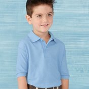 72800B Youth DryBlend Double Pique Sport Shirt