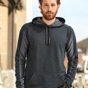 8435 Adult Omega Stretch Terry Hooded Pullover